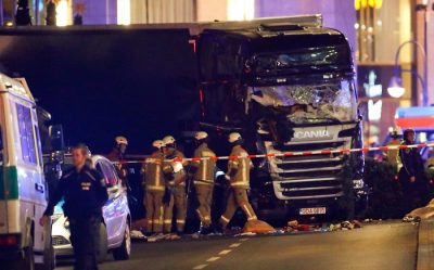 At least 12 killed, dozens injured after truck crashes into Berlin Christmas market