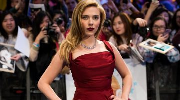 Scarlett Johansson named top-grossing actor of 2016