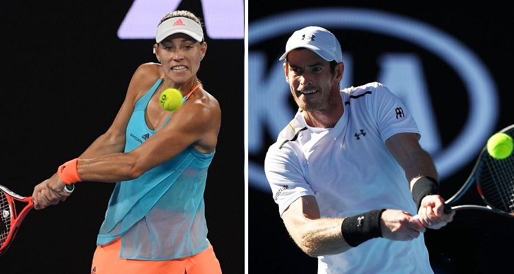 Top seeds Andy Murray and Angelique Kerber lose in Australian Open
