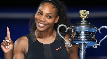 Serena Williams beat sister Venus to win her seventh Australian Open and an Open-era record 23rd Grand Slam singles title.