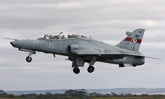 Royal Australian Air Force Aircraft_Hawk_MK127