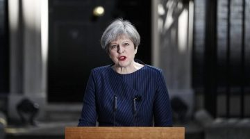 UK Prime Minister Theresa May to seek early election