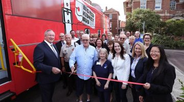 Big Red Kidney Bus embarks on NSW Holiday Tour