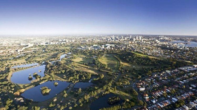 Centennial Park in Sydney, Australia