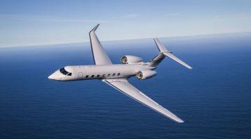 Gulfstream G550 aircraft