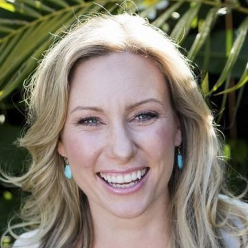 A photo of Justine Damond from her web site. The Sydney, Australia, native lived with her fiance in the Fulton neighborhood of Minneapolis.