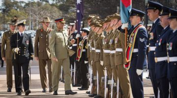 Pakistan Army Chief Qamar Javed Bajwa in Australia