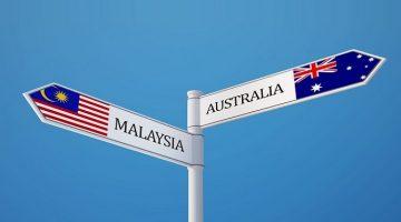 Australia and Malaysia
