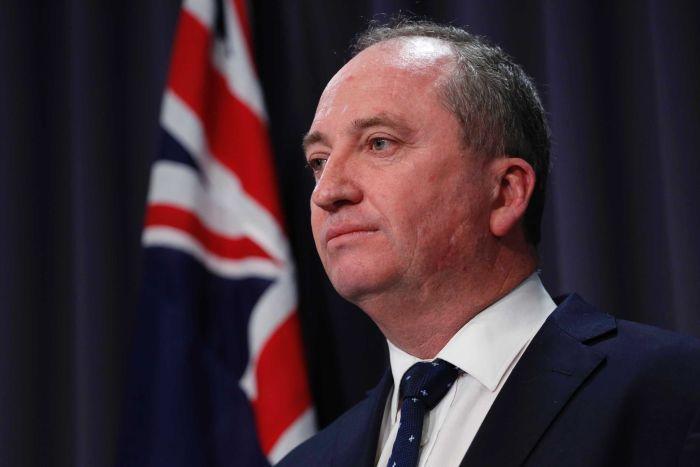 Australia's deputy prime minister Barnaby Joyce