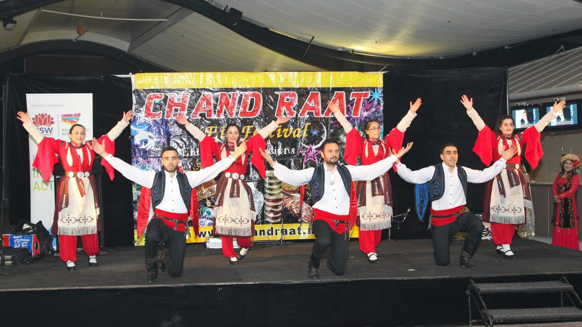 Turkish Cultral dance in Chand Raat