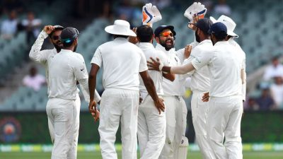 India wins 1st test in Adelaide (source Zee News)