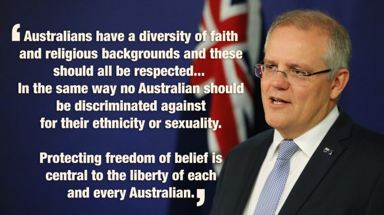 Scott Morrison Prime Minister of Australia