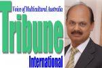 Syed Atiq ul Hassan with Tribune logo
