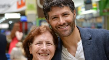 Victor Dominello on his mum's birthday