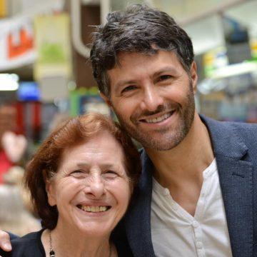 Victor Dominello on his mum's birthday