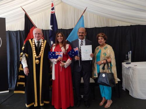 Citizen of the Year Award by Parramatta Council